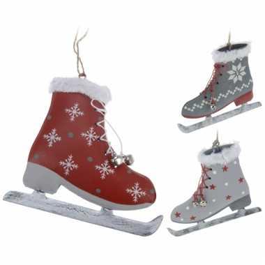Kerstboom hangversiering schaats 11 cm