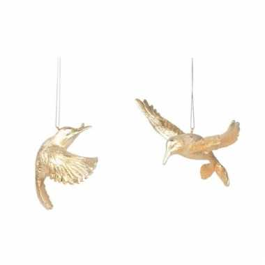 Kerstboom kersthanger kolibrie vogel 13 cm versiering