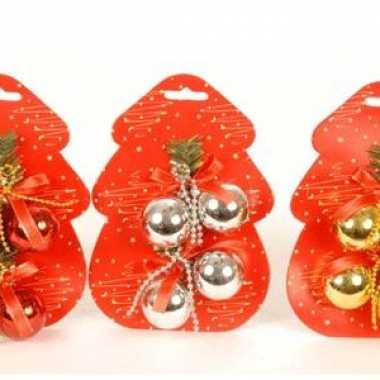 Kerstboom  Klein formaat kerstballen 4 cm versiering